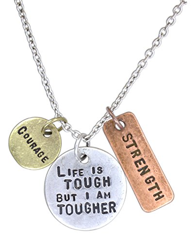 Keep Sensational Stamped Inspirational Necklace product image