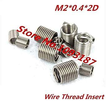 Ochoos 100 piezas M20.42D inserto de rosca de alambre de ...