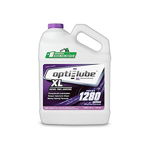 Opti-Lube XL Xtreme Lubricant Diesel Fuel Improver: 1 Gallon without Accessories Treats up to 1, 280 Gallons OPT-XL1-NA
