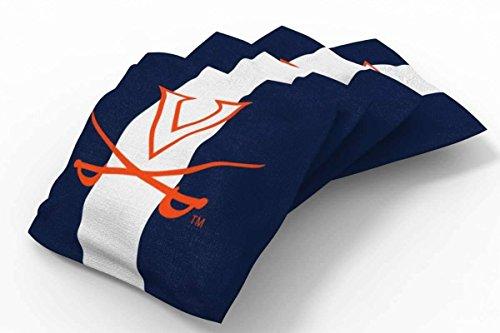 (PROLINE 6x6 NCAA College Virginia Cavaliers Cornhole Bean Bags - Stripe Design (A))