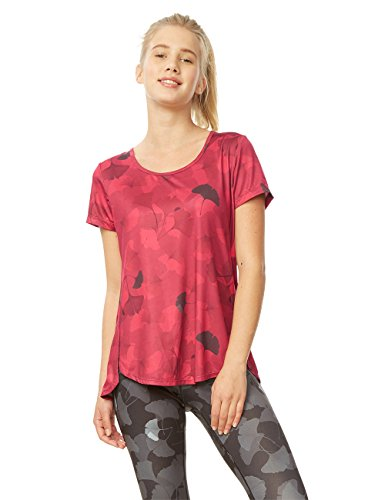 Femme T Co 3052 Grand L Training Ginko T Desigual shirt Rose Tee Red ZpP8Ewgx