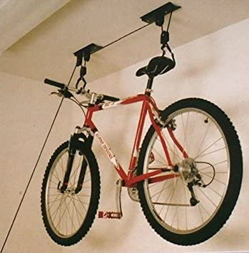 Bicycle Gear - Soporte de techo con poleas para bicicleta: Amazon ...