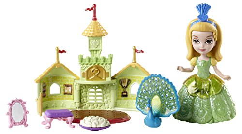 Mattel Disney Sofia the First Amber and Peacock Giftset