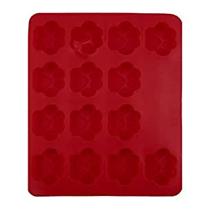WINOMO Biscuit Cake DIY Mould Tools - Dog Footprint Paw Mould (Red)