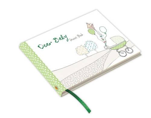 Dear Baby - Baby Shower / Newborn Guest Book (Green) : Capture messages of love & congratulations (From You to Me Journals) pdf epub