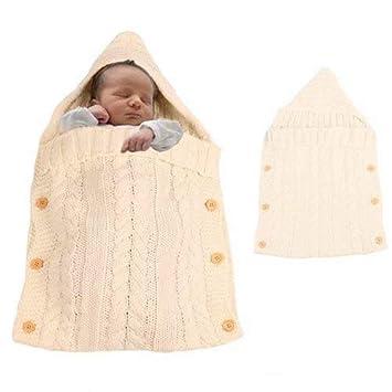 DIVAND Recién Nacido bebé Swaddle Manta Abrigo Sacos de Dormir, niño niño Grueso cálido Fleece