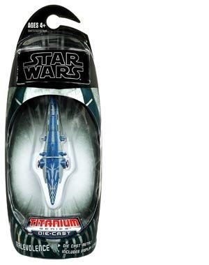 Star Wars 2009 Titanium Die Cast Vehicle Malevolence