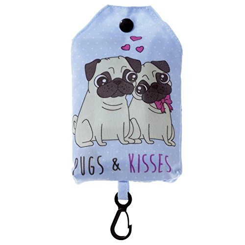 Adorable Pug Foldable and Fashionable Cute Bag rrwzAUqxnd