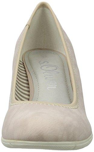 s.Oliver 22405, Zapatos de Tacón para Mujer Rosa (ROSE 544)