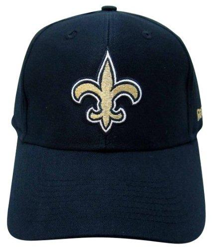 量敵意肉腫NFL新しいOrleans Saints基本的なロゴベルクロ留め野球帽子、チームプライマリ色