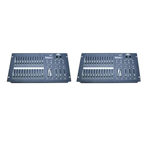 CHAUVET Stage Designer 50-48 Channel DMX-512 Dimming Console/Light Controller (2 Pack)