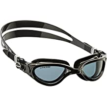 Cressi DE202322 Flash Italian Made Ultra Clear Premium Swim Goggles (with protective case) Easy Adjustable Buckles