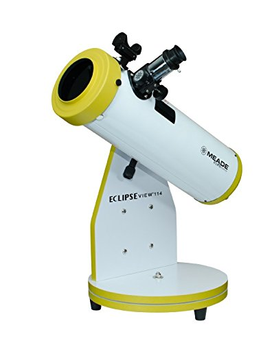 Meade EclipseView 114mm Reflecting Day or Night Telescope with Removable Filter (227001) by Meade