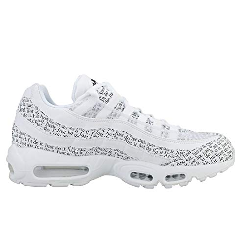 Max Unisexes 100 Baskets Air Adultes Noir blanc Multicolores 95 Se Blanc Nike CP1Rn5qY