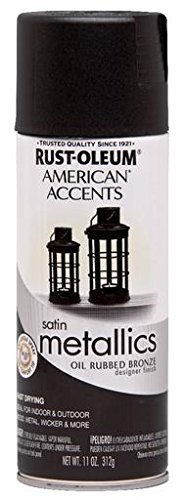 American Accents 243898 11 Oz Oil Rubbed Bronze Metallic Spray Paint by Rust-Oleum