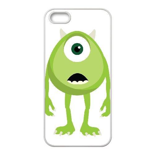 Monsters 003 coque iPhone 4 4S Housse Blanc téléphone portable couverture de cas coque EOKXLKNBC24401