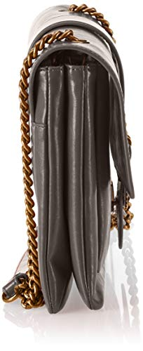 Sacs Corvo Pinko Gris Love Vitello Vintage portés épaule Grigio Vintage Big vHXqxH6w