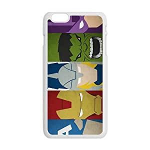 Cool Painting The Avengers Pattern Hot Seller Stylish Hard Case For Iphone 6 Plus