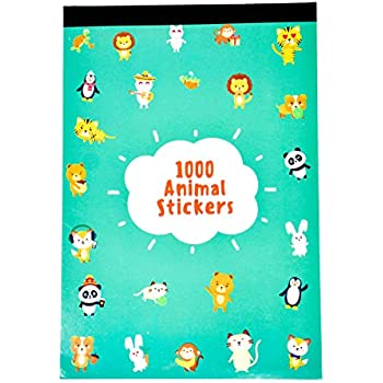 Over 1000 Stickers Designs may vary Childrens Reward Sticker Book