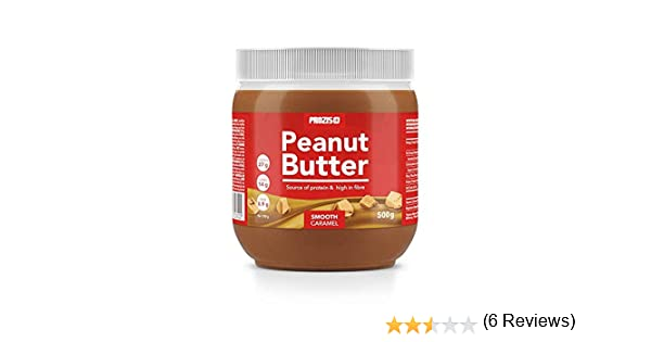 Prozis Sport - Crema de Cacahuete al Caramelo, Sabor Cremoso - 500 gr: Amazon.es: Salud y cuidado personal