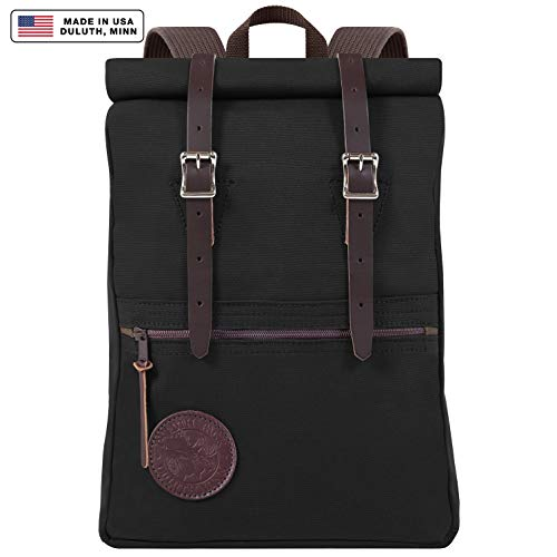 - Duluth Pack Scout Rolltop Pack (Black)