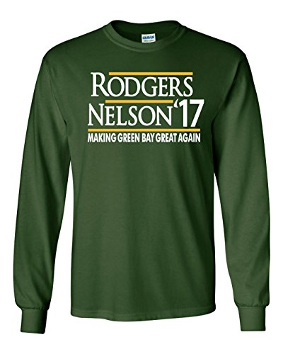The Silo LONG SLEEVE GREEN Green Bay Rogers