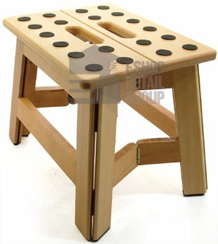 Great Ideas Quality Wooden Step Stool From Beech Wood - Anti Slip Pads Provide Added Grip - Folds Away Flat Amazon.co.uk Kitchen u0026 Home  sc 1 st  Amazon UK & Great Ideas Quality Wooden Step Stool From Beech Wood - Anti Slip ... islam-shia.org
