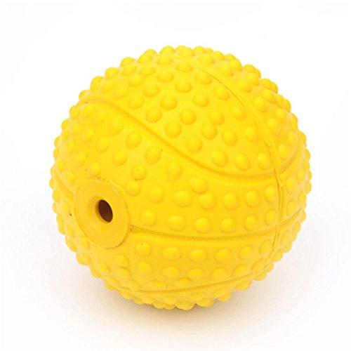 Wicemoon - Pelota de goma elástica de goma para perro, bola de ...
