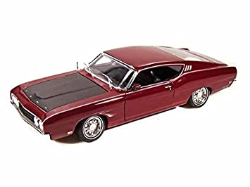 1969 ford torino talladega 1 18 burgundy maisto diecast modelsimage unavailable image not available for colour 1969 ford torino