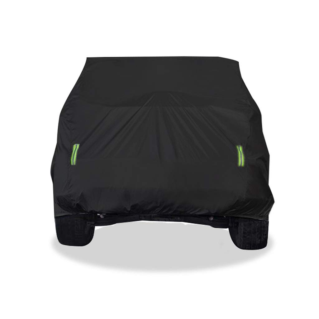 Funda para Coche JIANPING Cubierta del Coche Cubierta Interior y Exterior de Tela Gruesa Oxford Anti-fouling protecci/ón contra el Sol Cubierta de Lluvia para Modelos de la Serie Jeep Cherokee