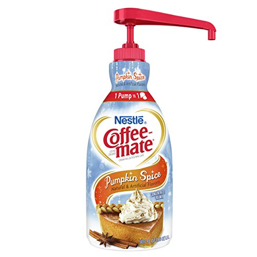 NESTLE COFFEE-MATE Coffee Creamer, Pumpkin Spice, 50.7 fl oz,(pack of 2)