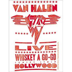 Van Halen - Poster - Die Cut Vinyl Sticker Decal