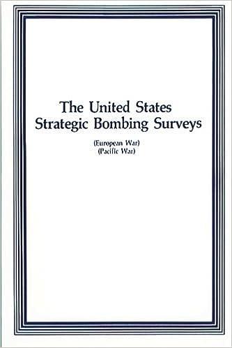 Book The United States Strategic Bombing Surveys by Air University Press (2012-08-17)