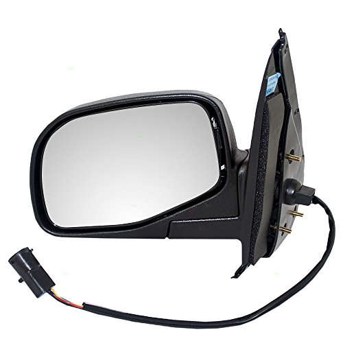 (Drivers Power Side View Mirror with Puddle Lamp Replacement for Ford Mercury SUV F87Z17683AAB)