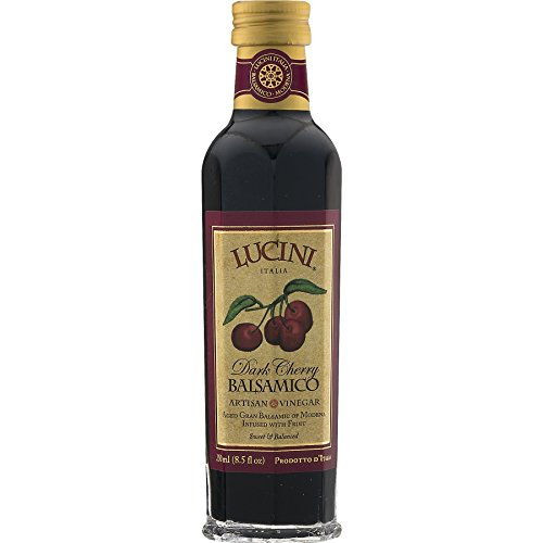 Lucini Italia Dark Cherry Infused Gran Balsamic Vinegar -- 1 bottle containing 8.5 fl oz