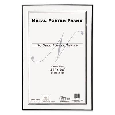 Amazon.com - Metal Poster Frame 24x36 Black - Professional Art Frame ...