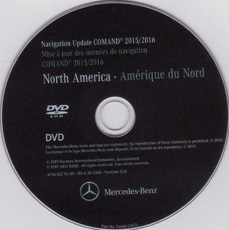 Amazon com: Mercedes Benz 2016 NTG-3 Navigation DVD Road Map Update
