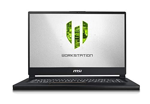 "MSI WS65 8SK-476 Enthusiast (i9-8950HK, 32GB RAM, 4TB NVMe SSD, NVIDIA Quadro P3200 6GB DDR5, 15.6"" Full HD, Windows 10 Pro) VR Ready Workstation Laptop"