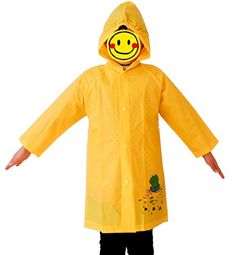 Kids Frog Raincoat - 4