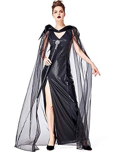 MORDYL Evil Black Dragon Castle Queen Set de Halloween para Mujer ...