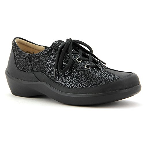 Ziera Alley Femmes Lace Up Black / Stingray