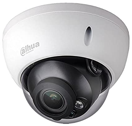 Dahua - Cámara Domo Profesional 6 Mpx IP POE, optica fija 2,8 mm