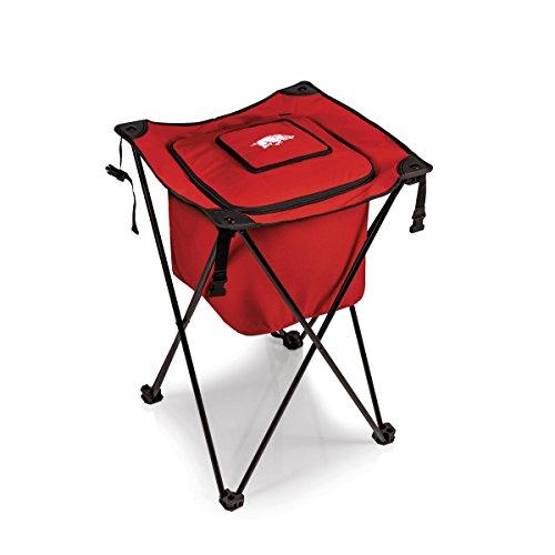 NCAA Arkansas Razorbacks Sidekick Insulated Portable Cooler with Integrated Legs, Red