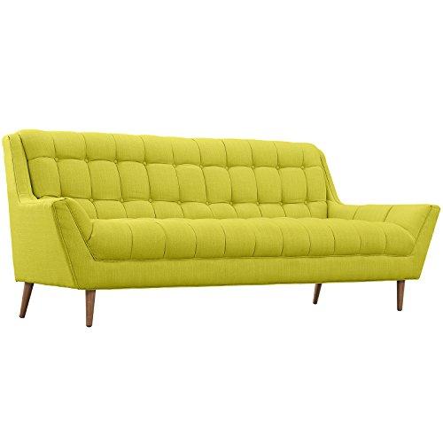 Modern Contemporary Fabric Sofa , Green, Fabric