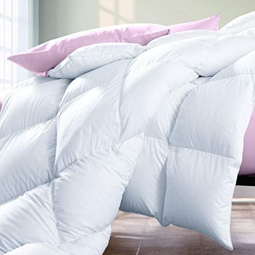 Renee Taylor Queen Bed 70/% Down Duck Feather Quilt Donna Duvet 400 GSM