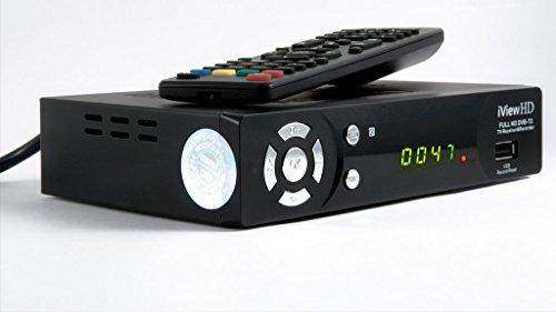 UK FULL HD 1080P FREEVIEW HD Set Top Box Digital TV Receiver & USB HD...