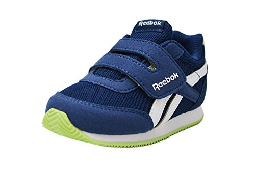Running white Reebok lime Kc Royal Scarpe Blu washed Bambino azul Cljog 2 Blue 000 Glow qC1qX