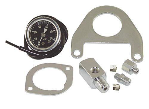 Twin Cam Oil Pressure Gauge Kit from V-Twin 40-9905 ()