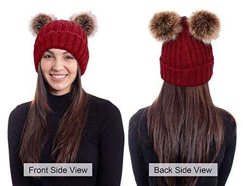 Pom Pom Ears | Artic Paw | Kawaii Beanie 3