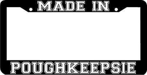 Billion_Store Made in Poughkeepsie NY License Plate Frame Unique Accessories for Tuning Cool ()